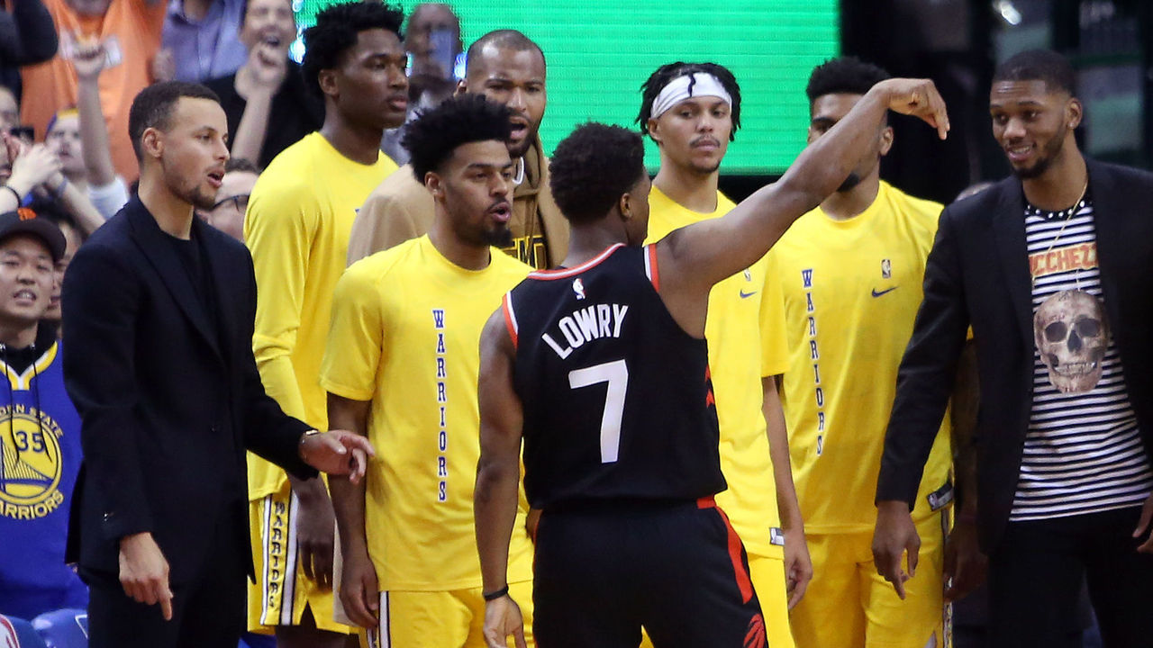 49b86da3e92 4 takeaways from Raptors-Warriors