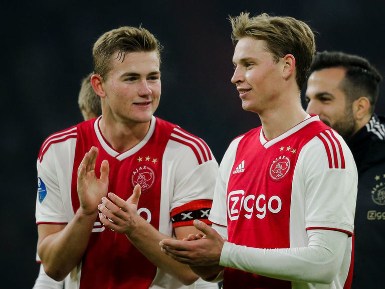 Ajax CEO says coveted duo De Ligt, De Jong won't be sold in January