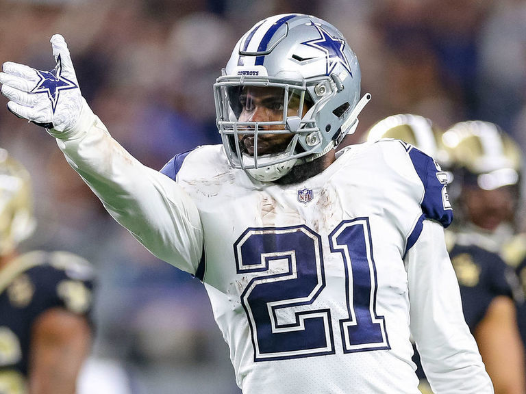 Report: Cowboys' Elliott wants contract extension in 2019