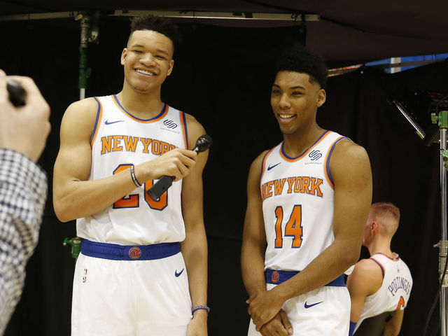 2c324164f86 Putting in work: Why 3 ambitious rookies are giving Knicks hope amid ...
