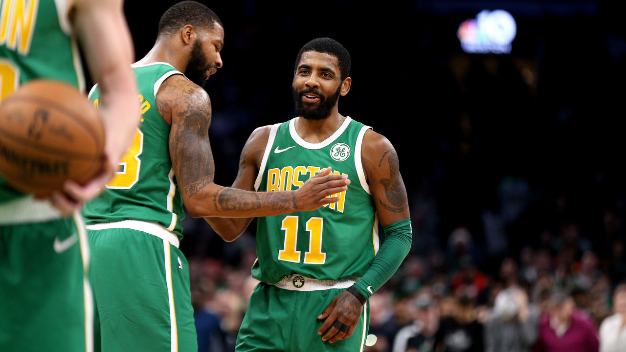 9bf7fa7954df Kyrie credits large family presence for 40-point outburst in win vs. Sixers