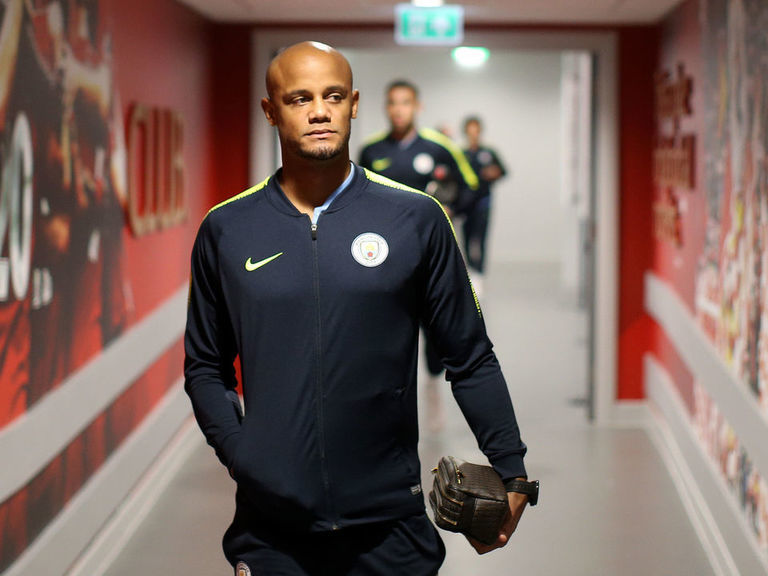 Kompany misses own testimonial match due to hamstring injury