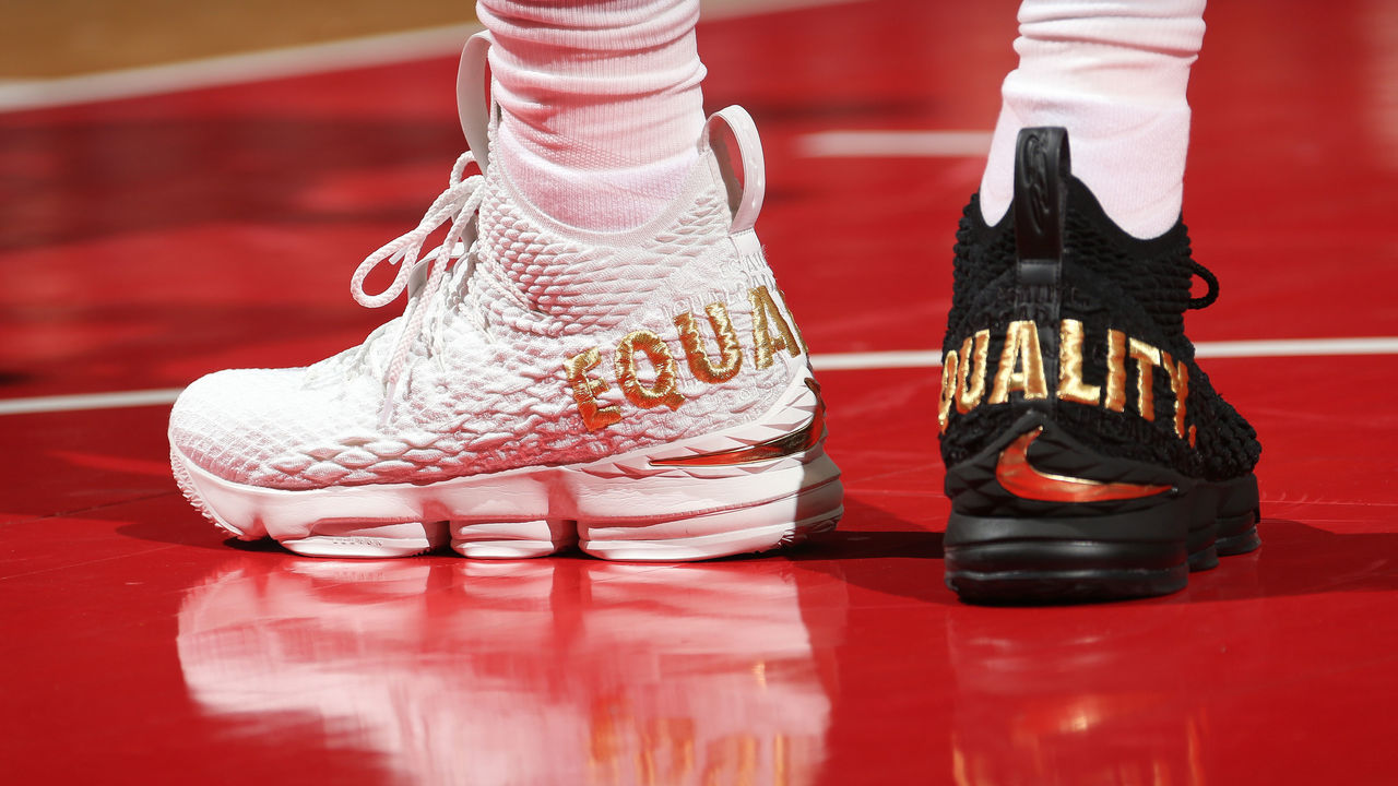 3c0667b6579 Nike to release new version of LeBron s  Equality  sneakers ...