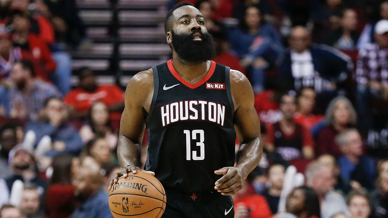 48f7afa5128 Harden s incredible streak continues with latest 40-point triple-double