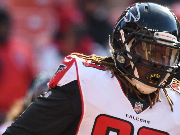 Report: Falcons' McKinley under mental evaluation after being detained by police