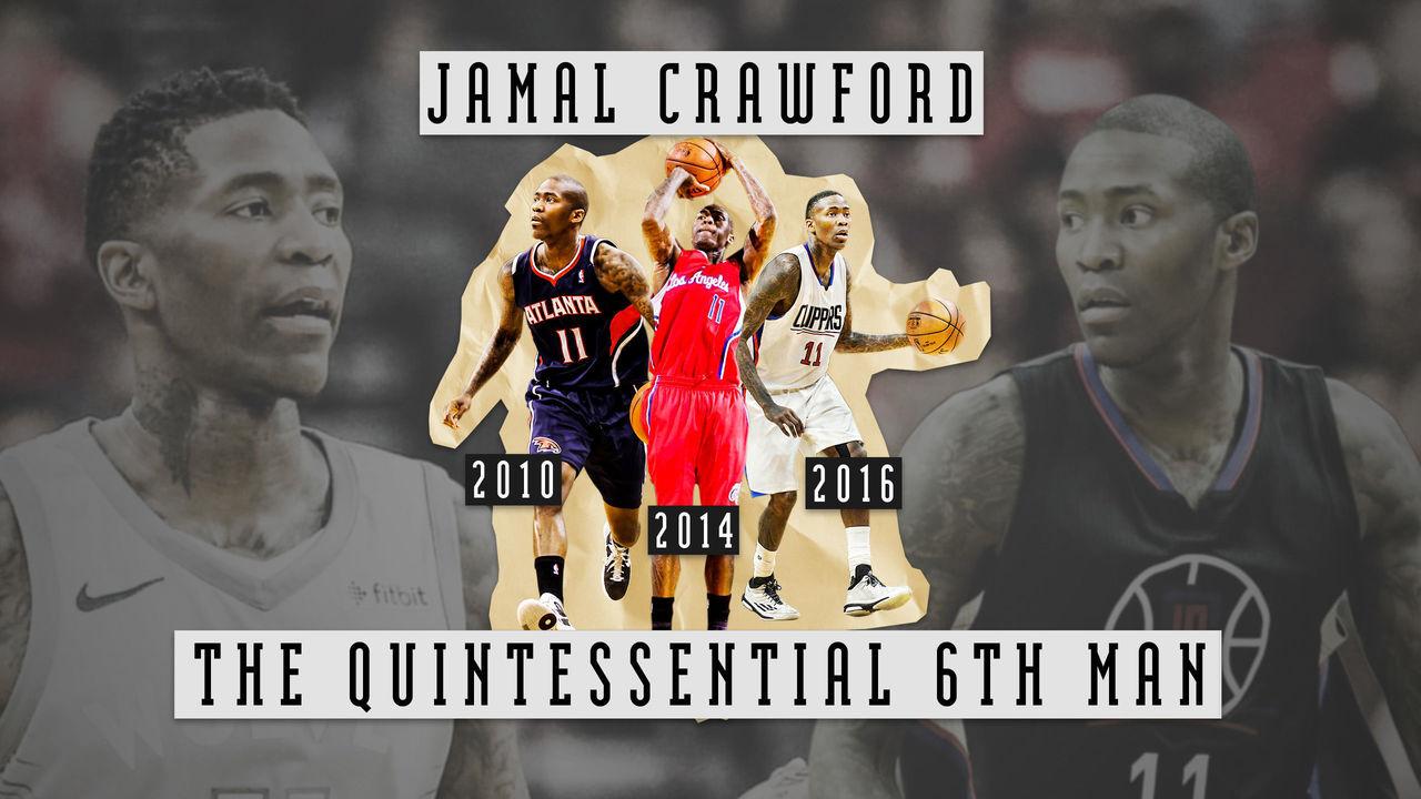 eba75568898c How Jamal Crawford became the NBA s quintessential 6th Man ...