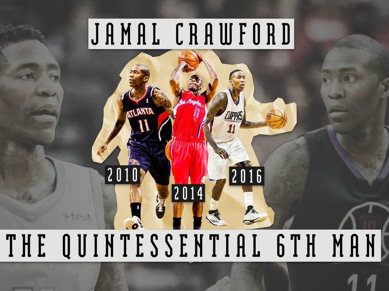 How Jamal Crawford became the NBA s quintessential 6th Man ... 033bf89fb