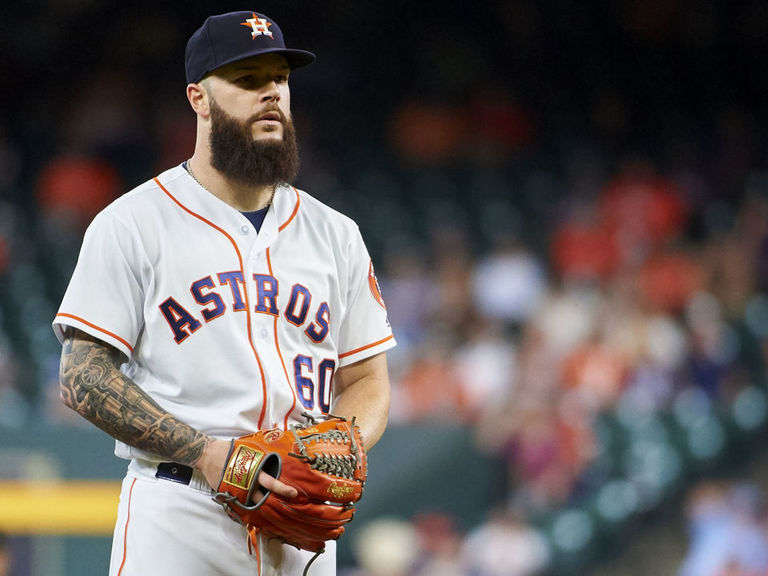 Report: Yankees send scout to watch Keuchel pitch