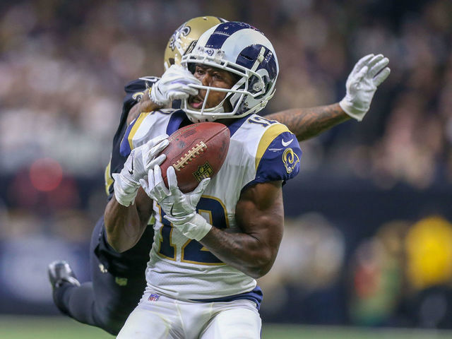 the latest f9120 8f9d4 Cooks meant to drop pass before Rams' game-winning field ...