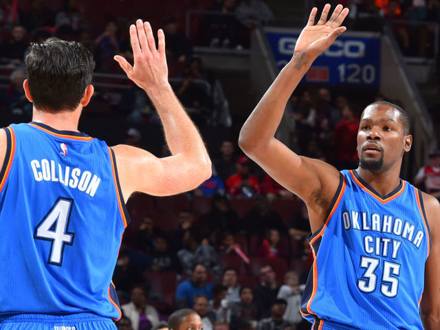 sale retailer 99ca9 2338b Report: KD plans to be in Oklahoma City for Collison's ...