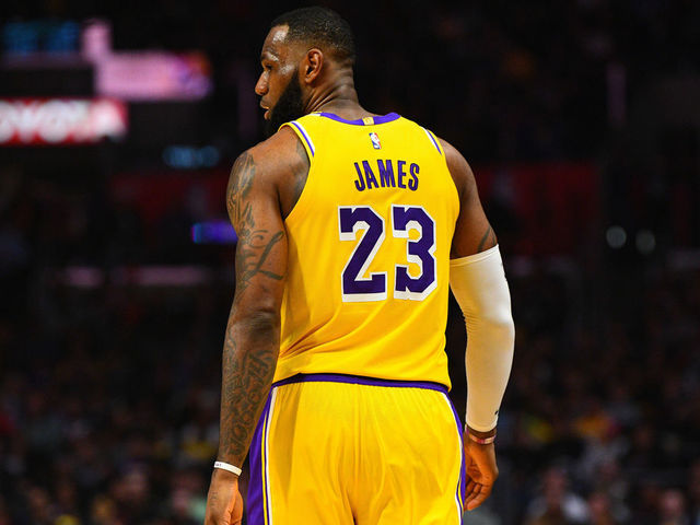 d31aec8d7 LeBron powers Lakers past Clippers in return from 17-game absence ...