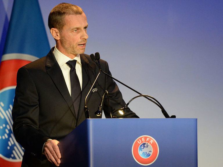 Ceferin defends UEFA's anti-racism policies, wants government help