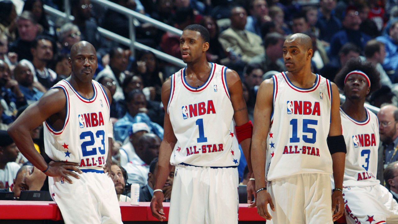 db7ed0703 Carter recalls relinquishing starting spot to MJ at 2003 All-Star Game