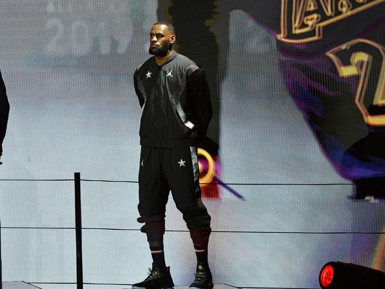 LeBron ties Kobe for most starts in All-Star Game history