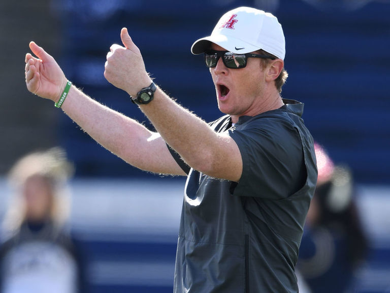 Report: Former Houston HC Applewhite joining Alabama as analyst