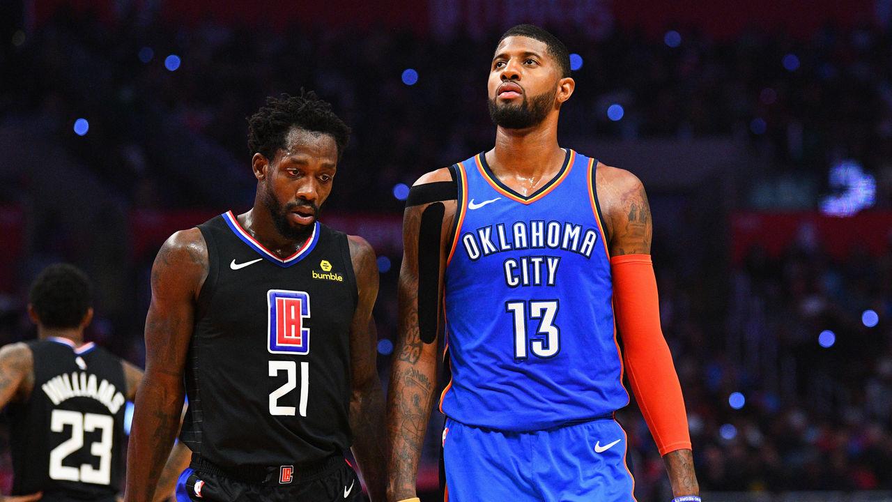 super popular ec3ca 82ed4 NBA fines George  25K for  bad officiating  comments   theScore.com