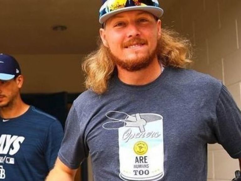 Rays create 'Openers are humans too' T-shirts for their pitchers