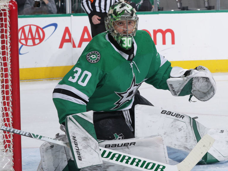 Stars' Bishop returning vs. Panthers amid franchise-best shutout streak