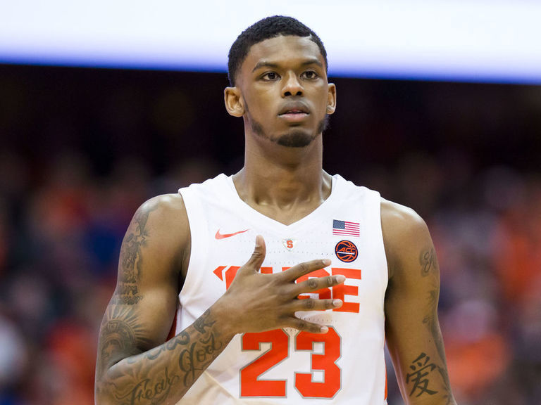 Syracuse's Howard suspended indefinitely due to athletic policy violation