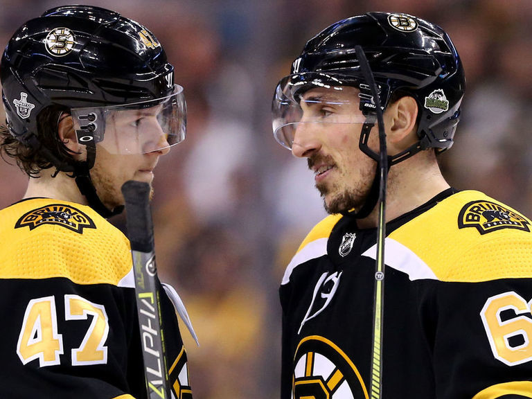 Marchand takes shot at Boston sports writer after criticism of Krug