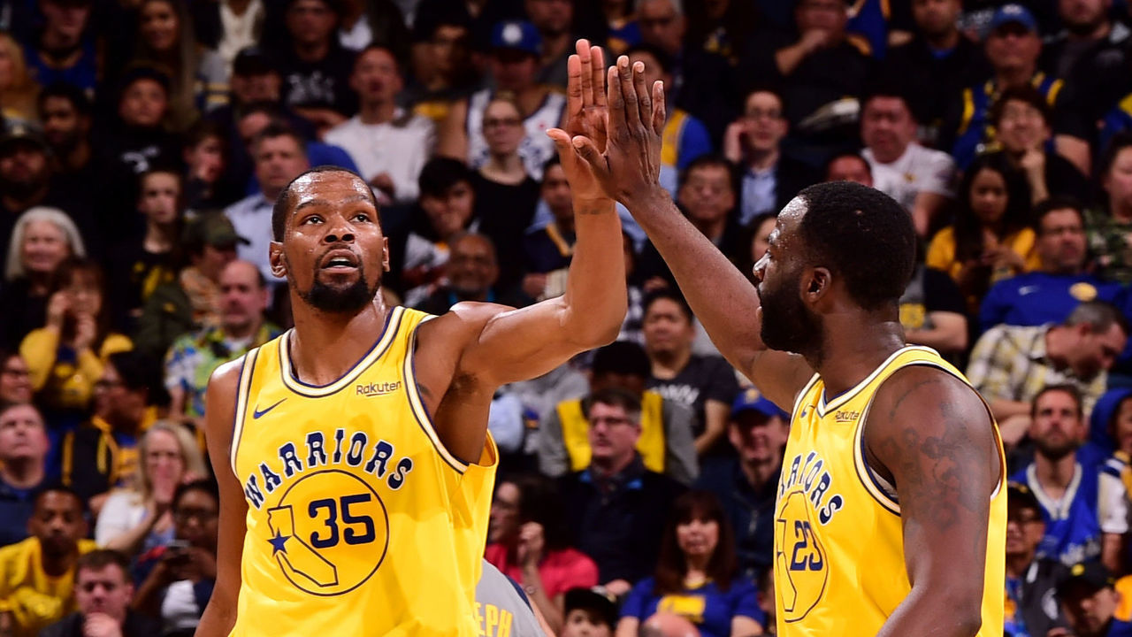 c2a23bdb3e45 Durant helps Warriors past Pacers after friend s death