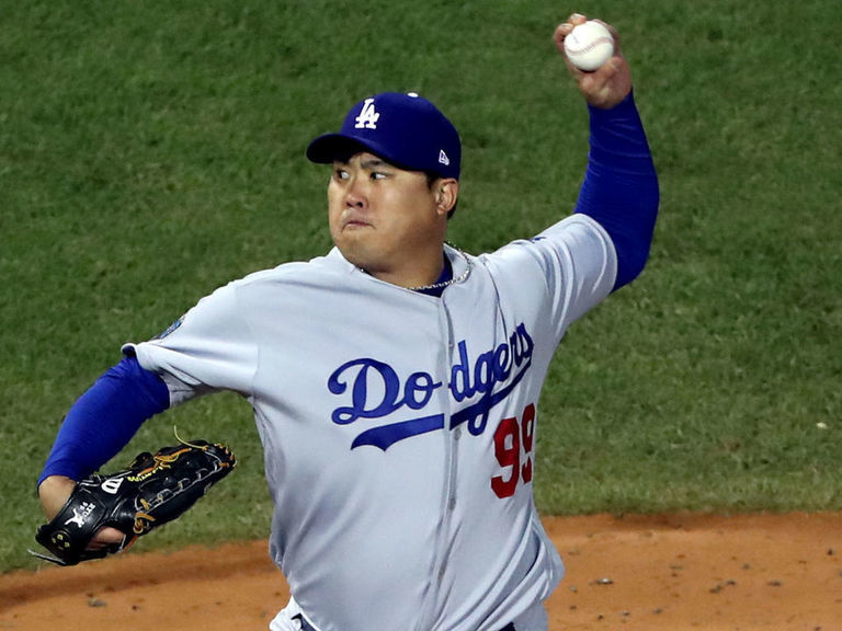 Dodgers tab Ryu for Opening Day with Hill sidelined