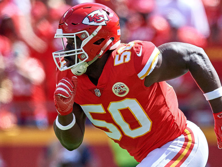 Justin Houston: I still have 'plenty in the tank'