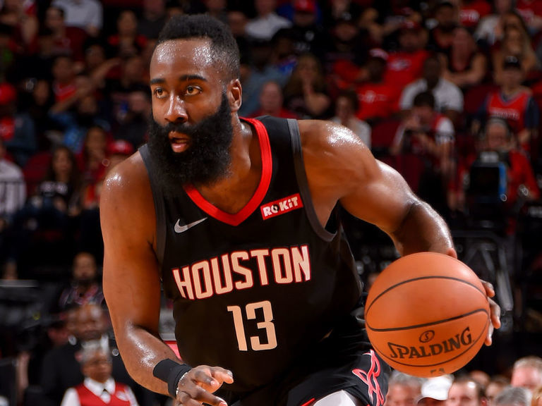 Harden ties career high with 61 in 8th 50-point game of season
