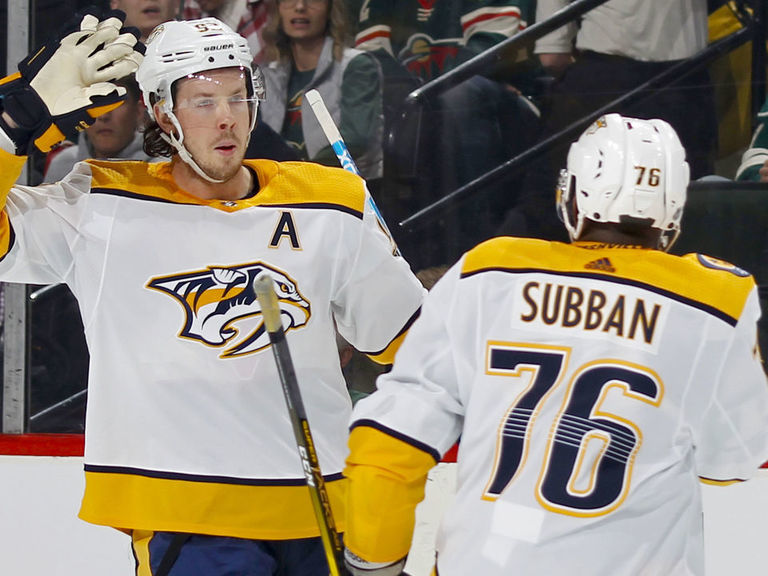 Predators clinch 5th straight playoff berth with victory over Wild