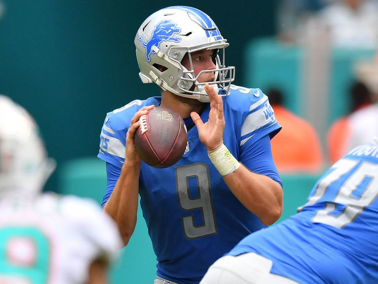 Report: Dolphins tried to trade for Lions' Stafford ahead of 2018 season