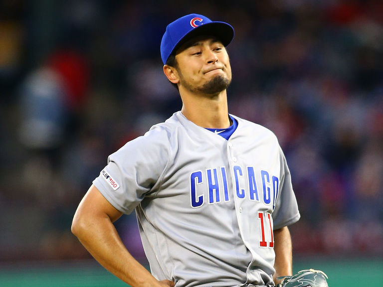 Cubs' Darvish throws shortest start of career in return to Texas