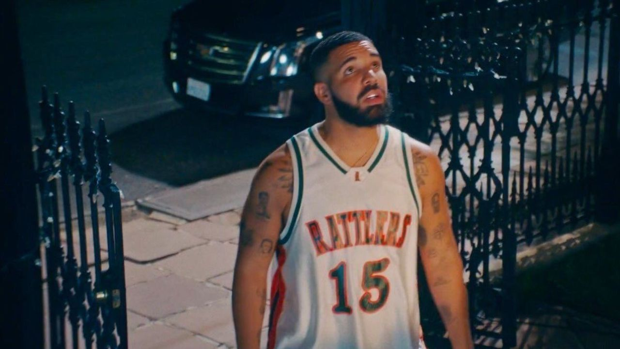 a2c635ccb5b Cousins explains how Drake got his HS jersey for  In My Feelings  video