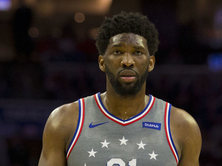 Embiid doubtful for Game 1 vs. Nets