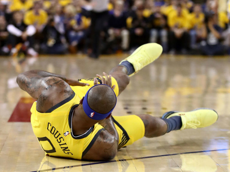 Warriors' Cousins suffered torn quad in Game 2