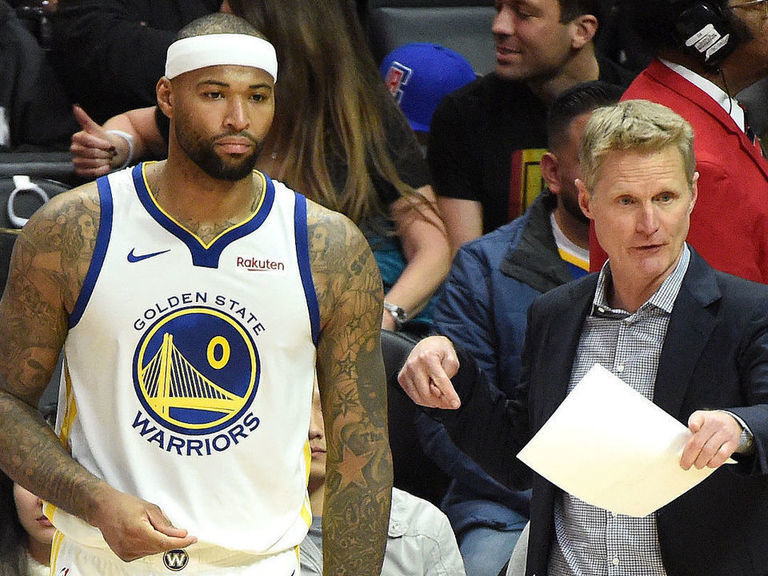 Warriors coach Kerr: 'We're all crushed' by Cousins' latest injury set