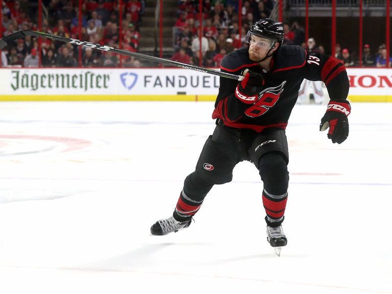 Hurricanes' Foegele won't face discipline for hit on Capitals' Oshie
