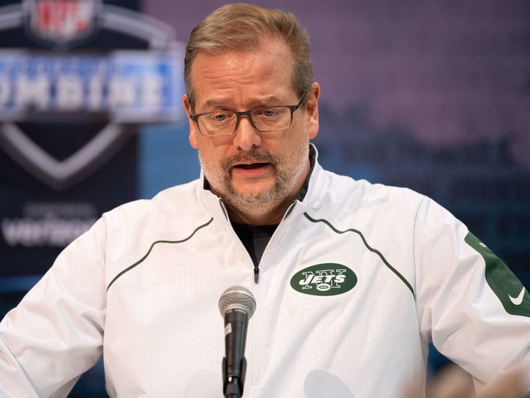 Report: Jets determined to trade down from No. 3 overall