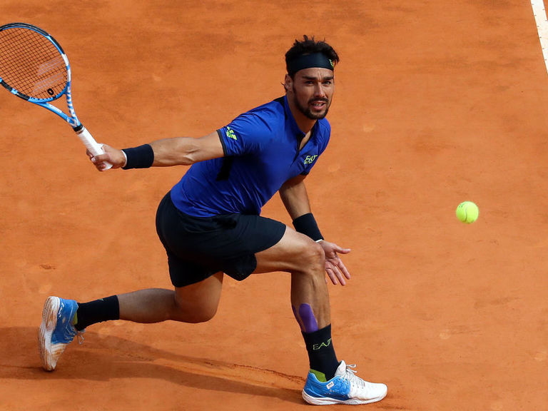 Fognini shocks Nadal to reach Monte Carlo final
