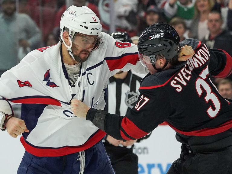 Svechnikov says Ovechkin is best pound-for-pound boxer in the world