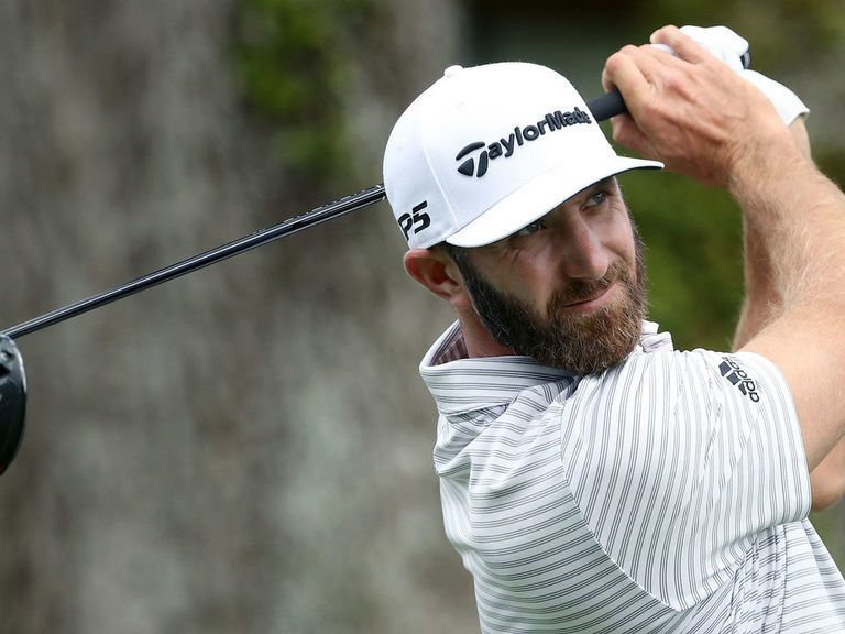DJ grabs 54-hole lead at RBC Heritage after 3-under 68