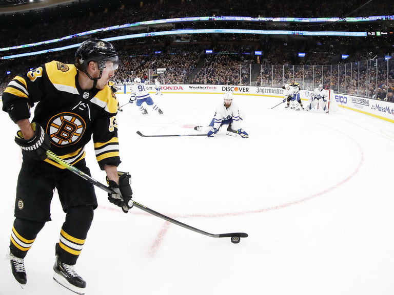 Marchand rips TD Garden ice: 'We might as well play with a tennis ball'