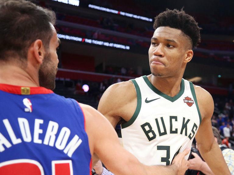 Bucks sweep Pistons to advance to 2nd round vs. Celtics