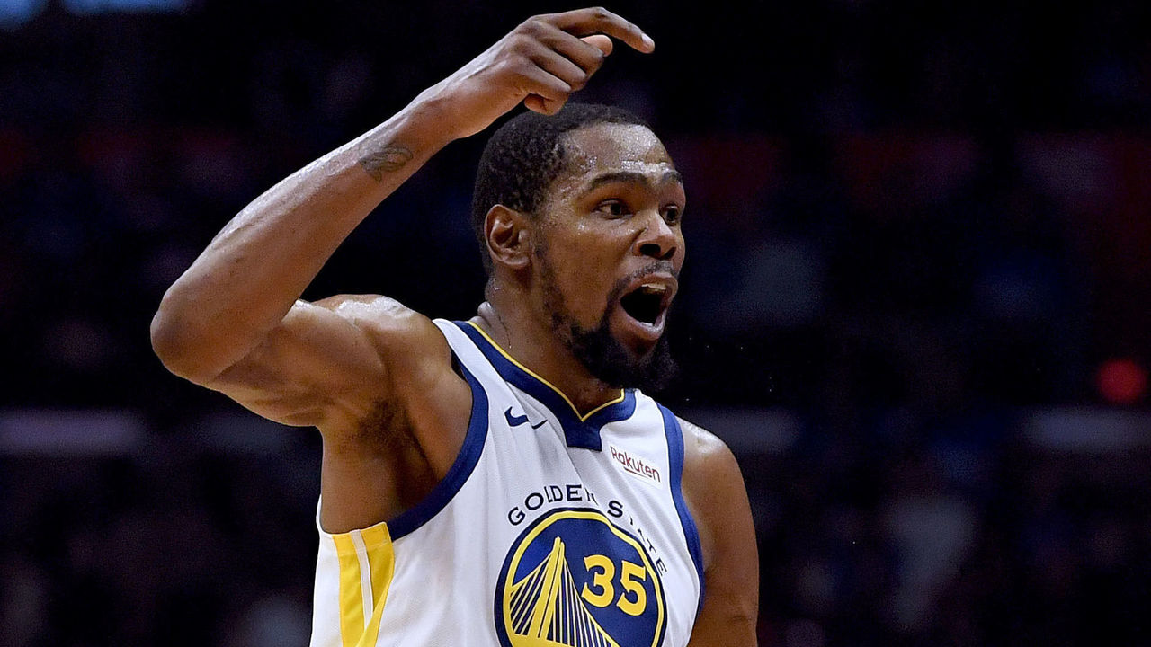 f02f26a2343 KD scores 50 in Game 6 as Warriors finally shed Clippers