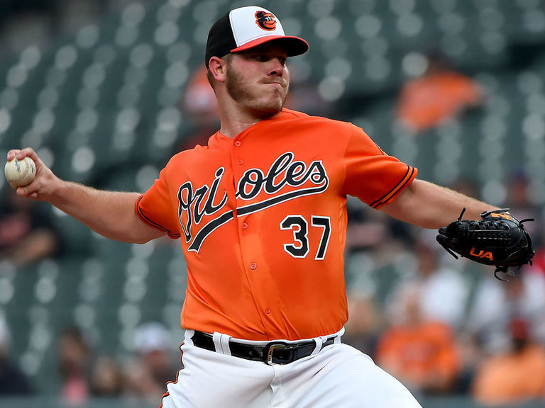 Orioles trade Bundy to Angels for 4 pitching prospects