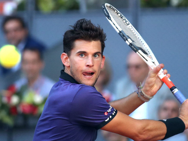 Thiem comes back to eliminate Federer in Madrid Open