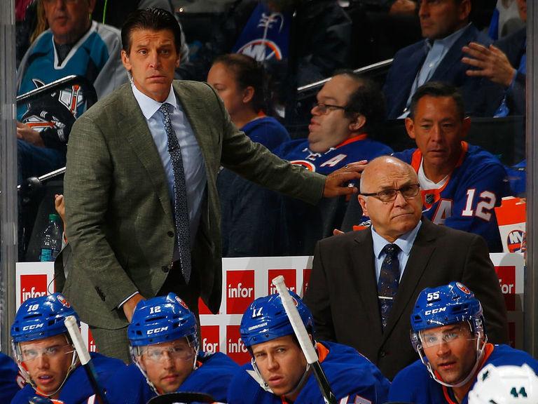 Report: Ducks to interview Islanders associate coach Lambert