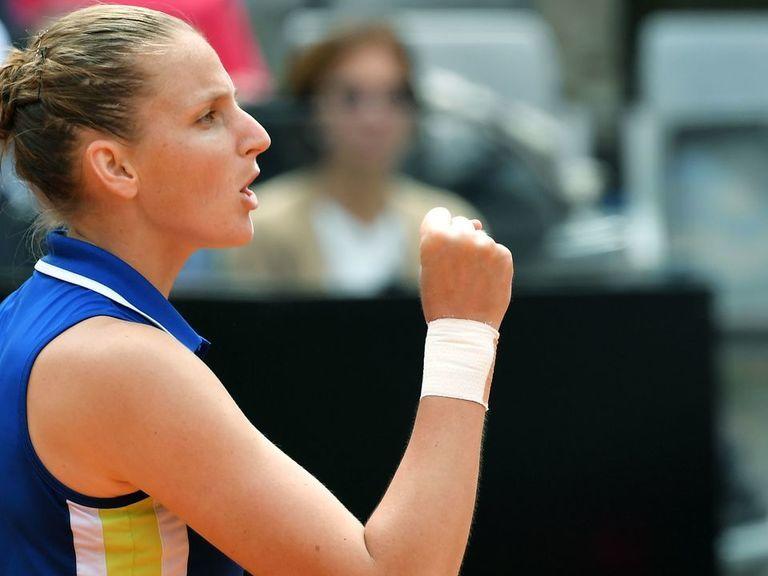 Pliskova defeats Konta to win 1st Italian Open