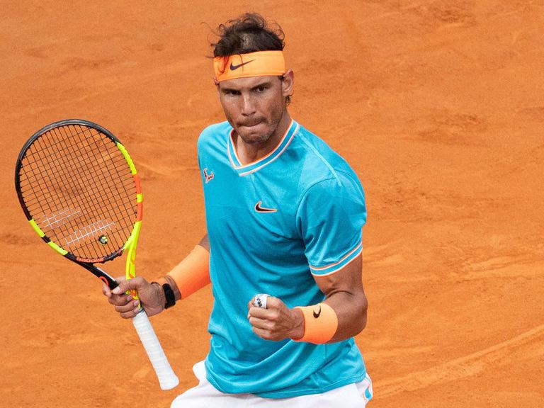 Nadal holds off Djokovic to win Italian Open