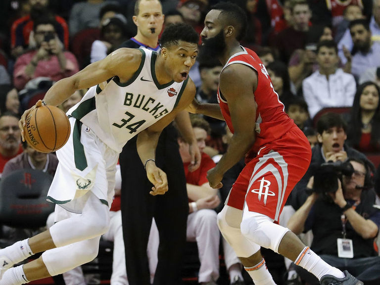 Antetokounmpo, Harden headline All-NBA teams