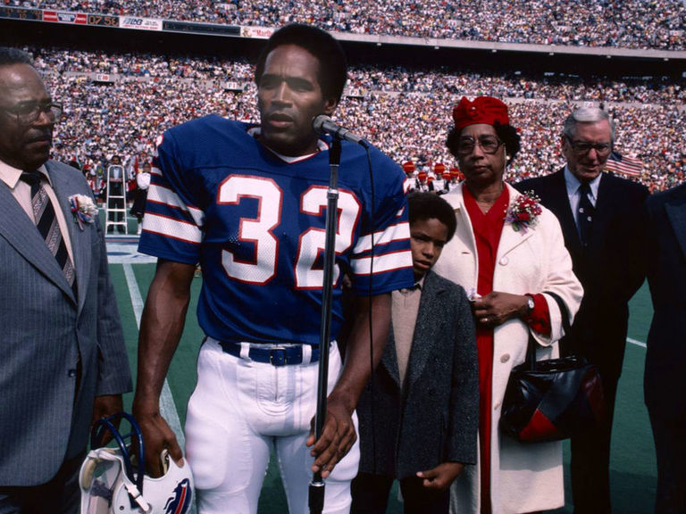 5996f237d5e Bills issue No. 32 for 1st time since O.J. Simpson